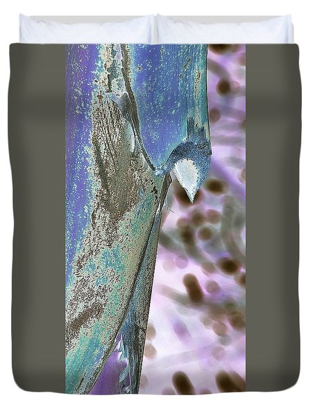 Get To The Point Duvet Cover