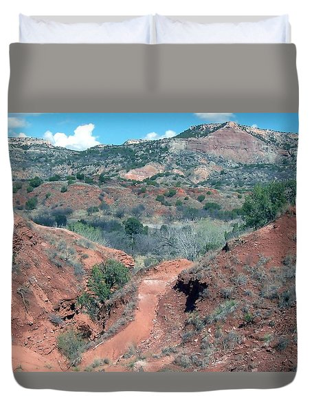 Palo Duro Canyon Duvet Cover