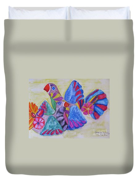 Palomas - Gifted Duvet Cover