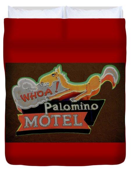 Palomino Motel Duvet Cover