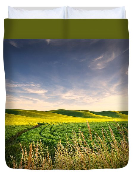 Palouse Bounty Duvet Cover