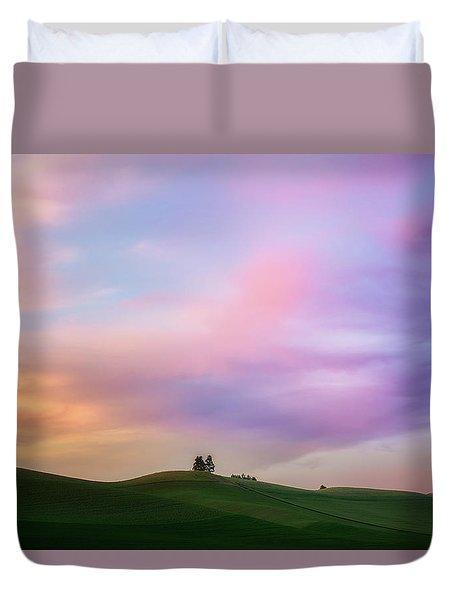 Palouse Cirrus Rainbow Duvet Cover