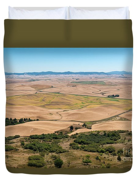 Palouse I Duvet Cover
