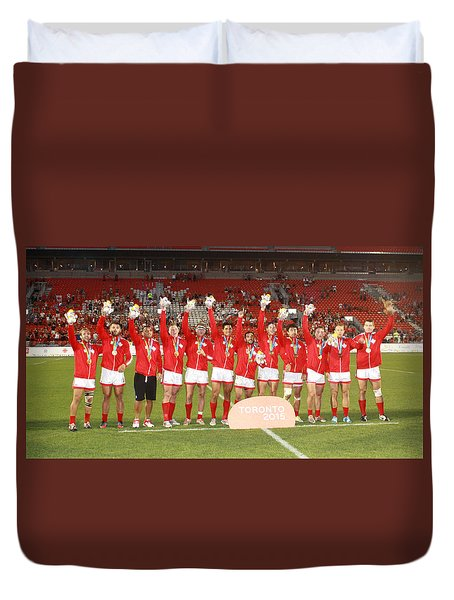 Pamam Games. Mens' 7's Duvet Cover