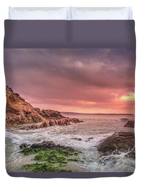 Pambula Rocks Duvet Cover
