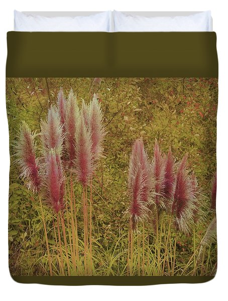 Pampas Grass Duvet Cover