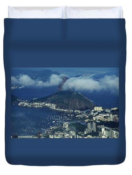 Pan De Azucar - Rio De Janeiro Duvet Cover