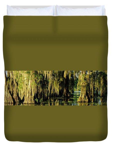 Pana Golden Hour Duvet Cover by Kimo Fernandez