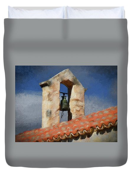 Panagia Kera Duvet Cover by Alex Galkin