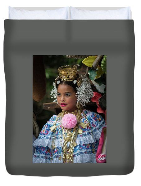 Panamanian Queen Of The Parade Duvet Cover
