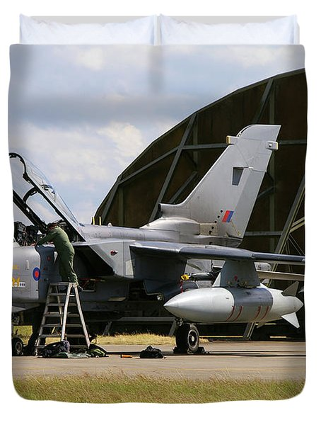 Panavia Tornado Gr4 Duvet Cover by Tim Beach