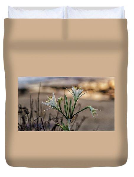 Pancratium Maritimum L. Duvet Cover