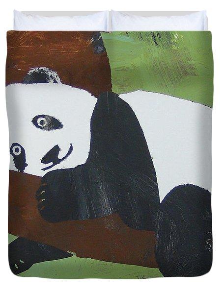 Panda Baby Duvet Cover
