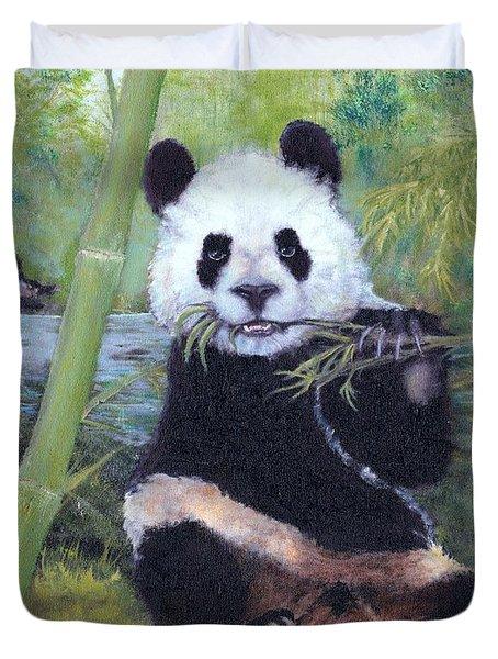 Panda Buffet Duvet Cover
