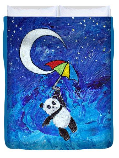 Panda Dreams Duvet Cover