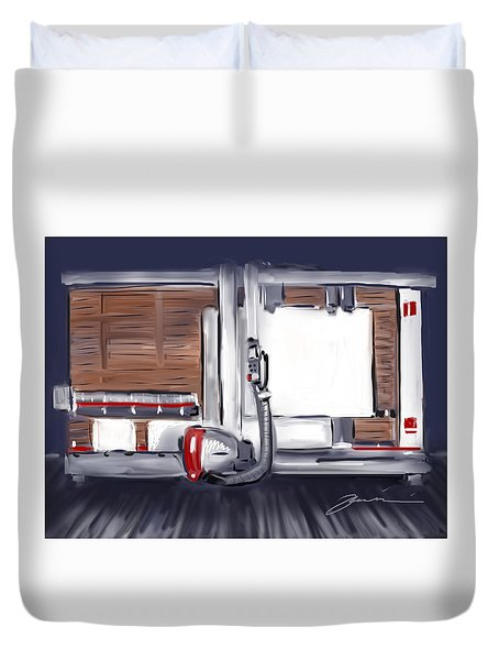 Panel Saw Duvet Cover