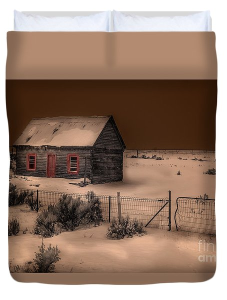 Panguitch Homestead Duvet Cover