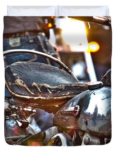 002 - Panhead Duvet Cover