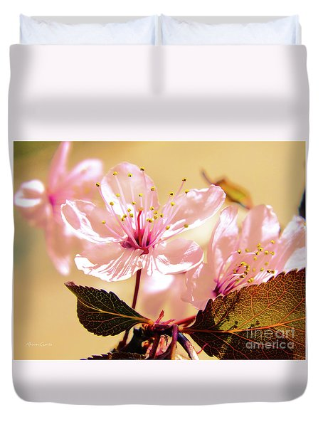Panoplia Floral Duvet Cover by Alfonso Garcia