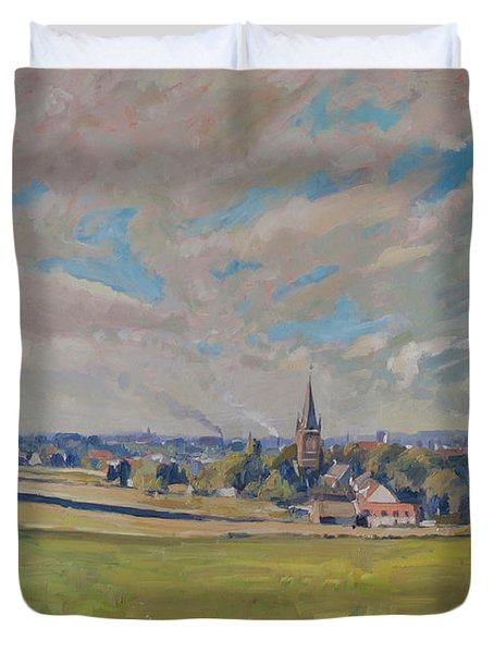 Panorama Maastricht Duvet Cover by Nop Briex