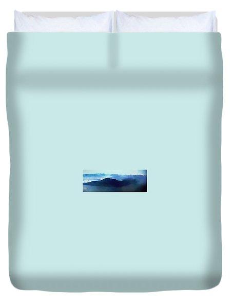 Panoramic Pacific Dream  Duvet Cover