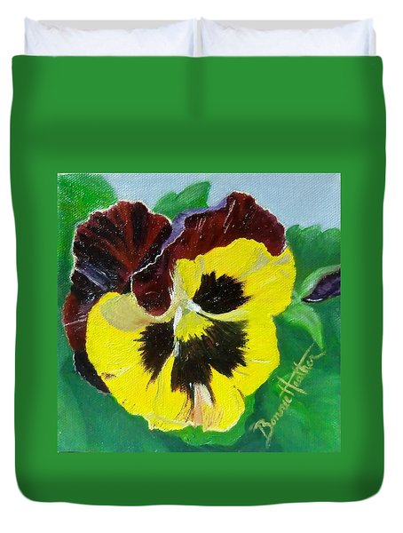 Pansy No. Ten Duvet Cover