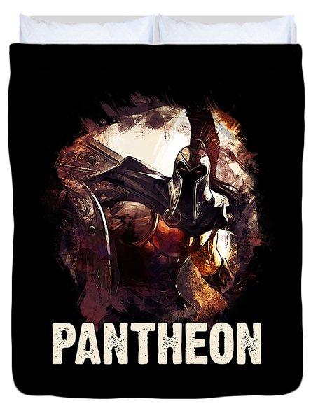 Pantheon - League Of Legends Duvet Cover