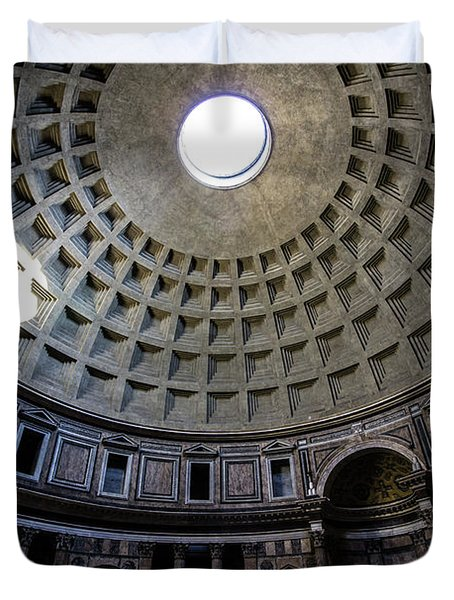Duvet Cover featuring the photograph Pantheon by Nicklas Gustafsson