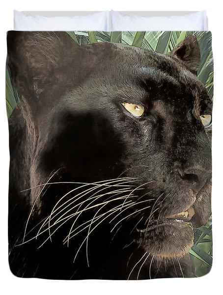 Panther 8 Duvet Cover