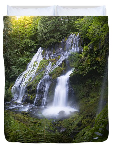 Panther Falls Duvet Cover