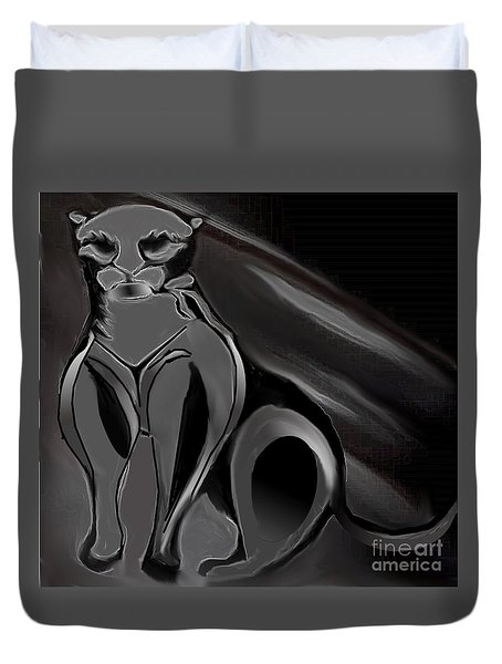 Panther No.2 Duvet Cover