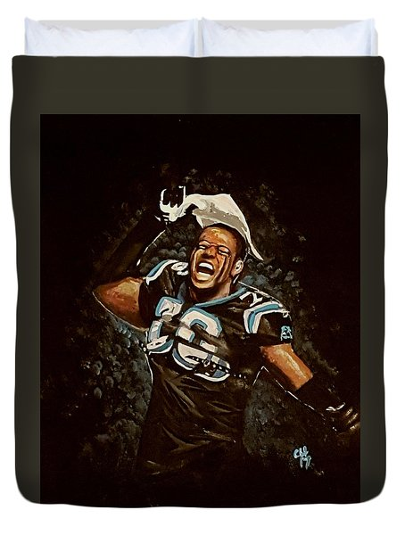 Panthers Duvet Cover