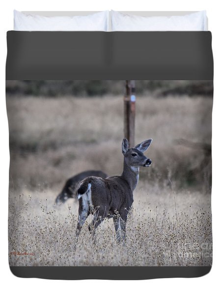 Papa Deer Duvet Cover