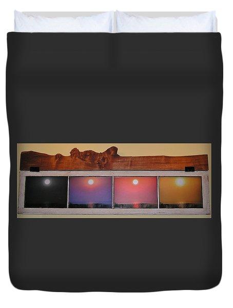 Paper Sun Duvet Cover