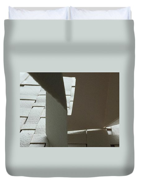Paper Structure-1 Duvet Cover