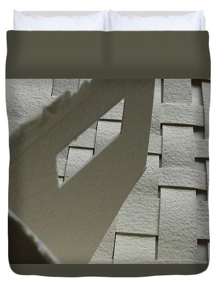 Paper Structure-2 Duvet Cover
