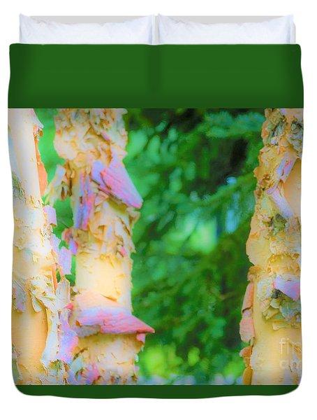 Paper Thin Bark Duvet Cover