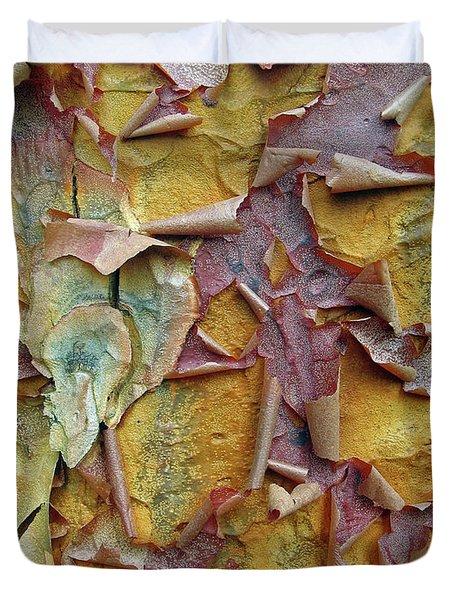 Paperbark Maple Tree Duvet Cover