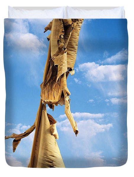 Paperbark Tree Duvet Cover by Christine Till