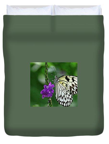 Paperkite Butterfly Closeup Duvet Cover