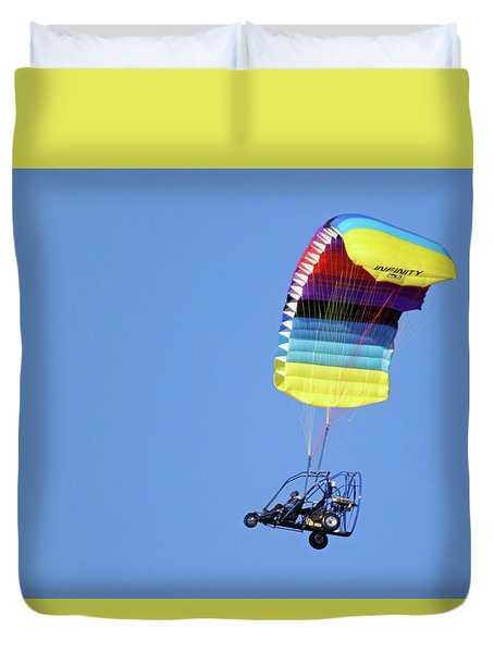 Para Cycle Duvet Cover by Brook Burling
