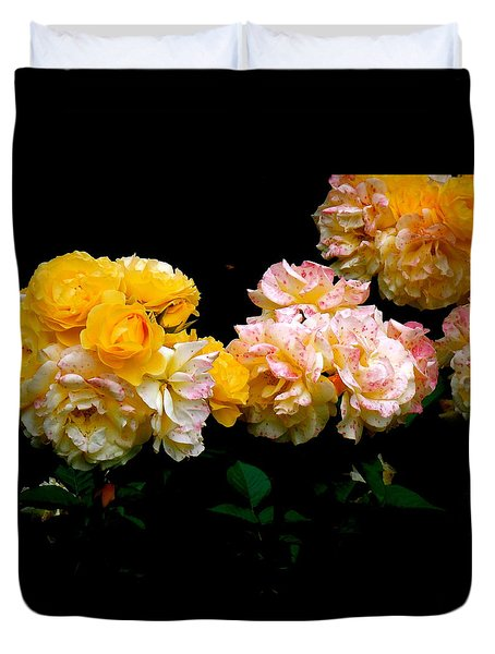 Parade Of Roses  Duvet Cover