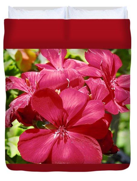 Paradise Bloom Duvet Cover