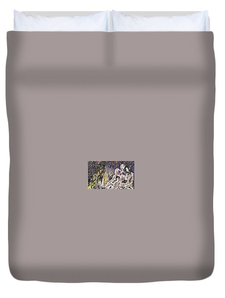 Paradise Can Be Copy And Pasted Duvet Cover