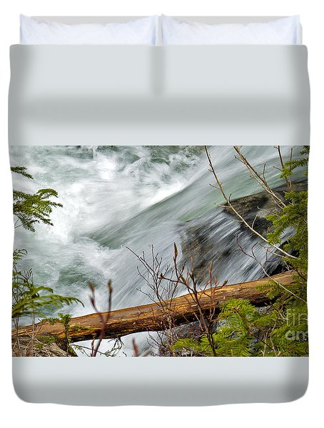 Paradise Express Duvet Cover by Chuck Flewelling