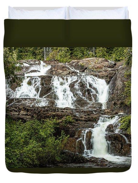 Paradise Falls-1 Duvet Cover