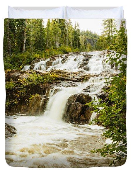 Paradise Falls-2 Duvet Cover