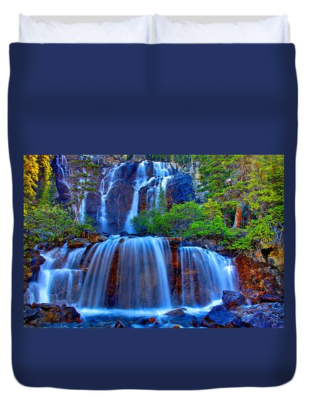 Paradise Falls Duvet Cover