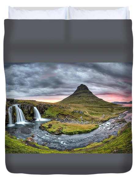 Paradise Found - Panorama Duvet Cover