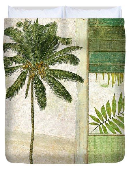 Paradise II Palm Tree Duvet Cover
